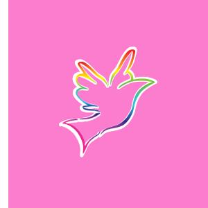 Caroline Lucas Coaching - Pink Bird Image