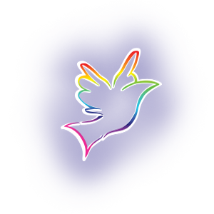 Caroline Lucas Coaching - purple bird image
